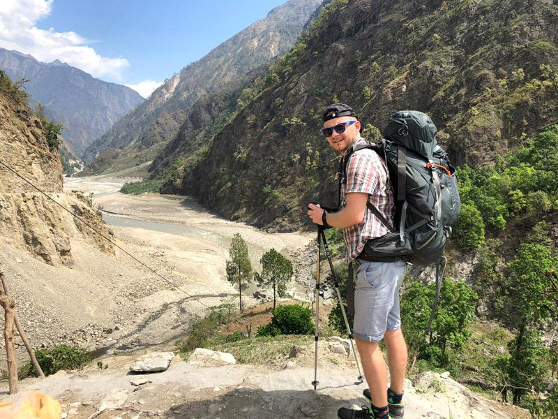 Along the way to Manaslu Trekking