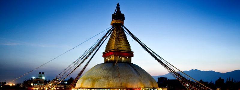 Bouddha Nath Stupa in Kathmandu