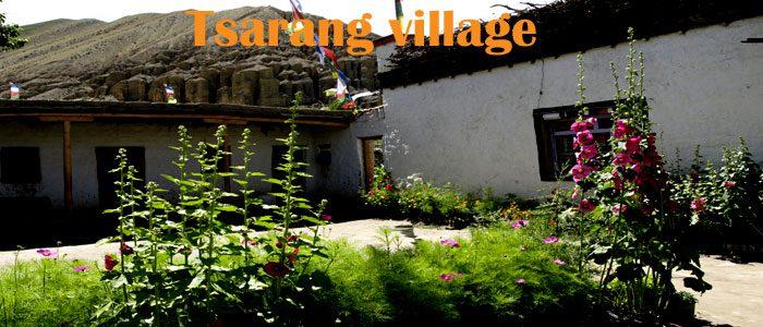 Charang Village Upper Mustang trekking
