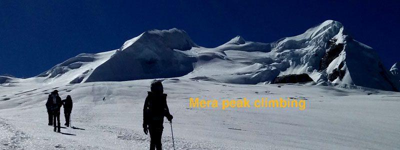 Mera peak climbing Photo