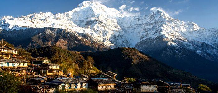 Local Ghandruk village