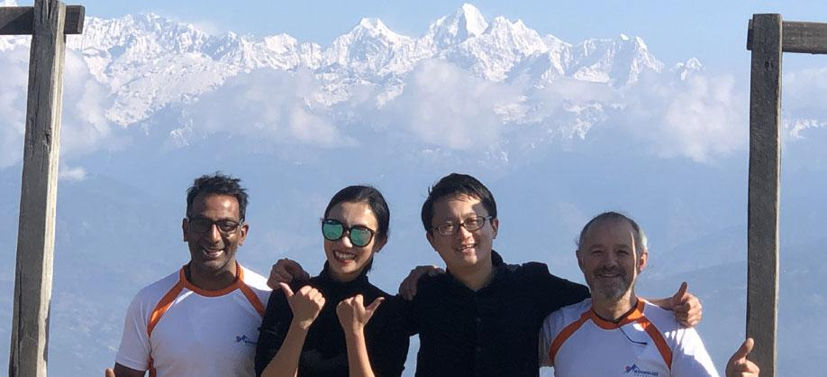 The view from Nagarkot