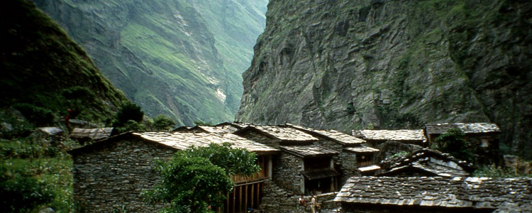 Jagat Village Manaslu Trekking