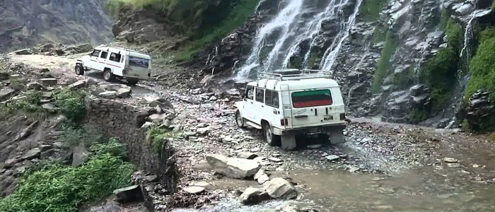 Jeep to Dharapani