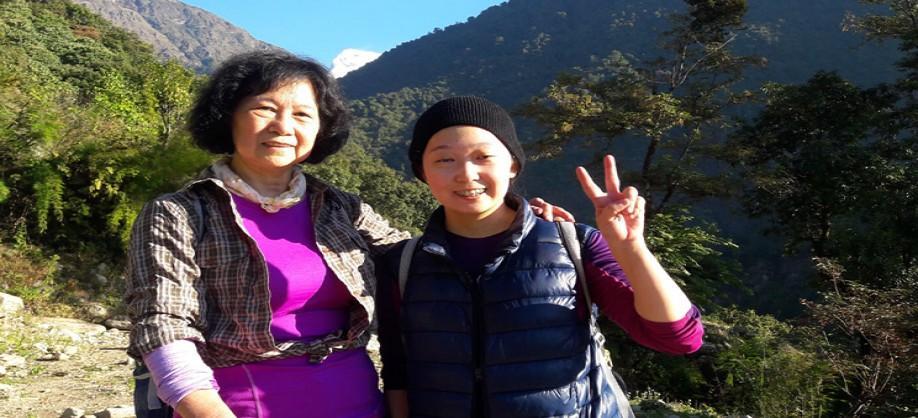 Trekkers of Langtang Valley Trekking