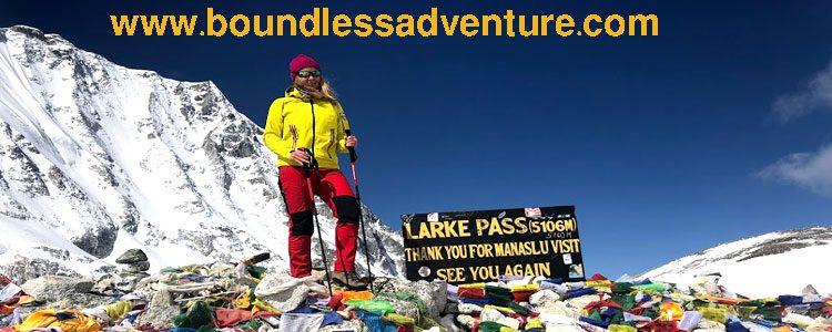 Manaslu-Larkey Pass