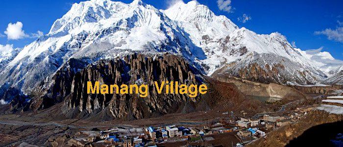 Manang village Trek Photo