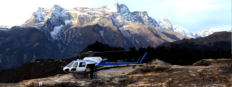 Mount Everest Base Camp Helicopter tour