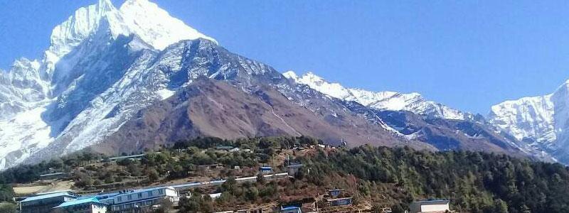 Namche Bazaar in Everest