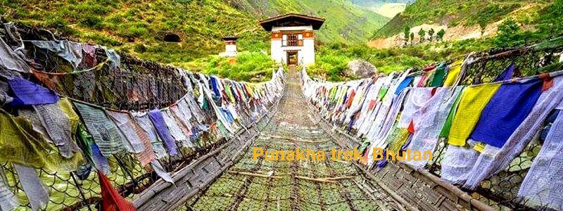 Punakha trek in Bhutan