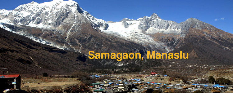 Samagaon in Manaslu
