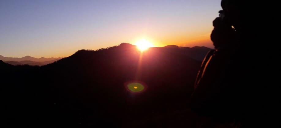Poon Hill Sunrise Photo