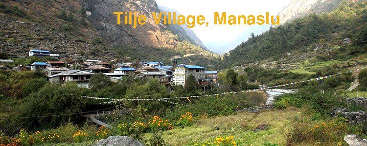 Tilje Village, Manaslu