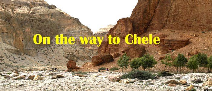 Chele trek in Upper Mustang trekking