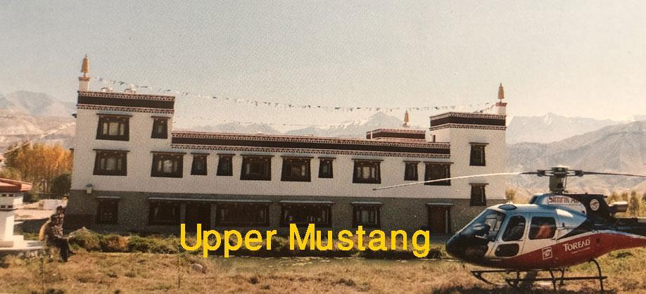 Upper Mustang Heli Tour