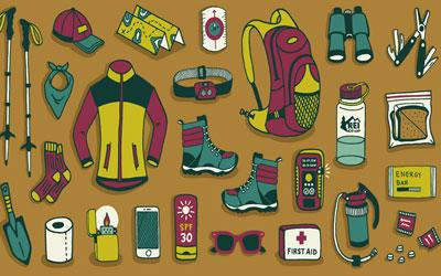 Equipment and Things needed for trekking