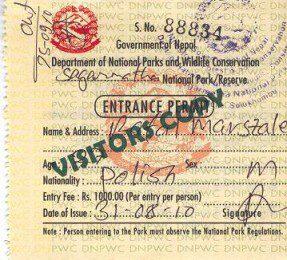 Everest Trekking Permit